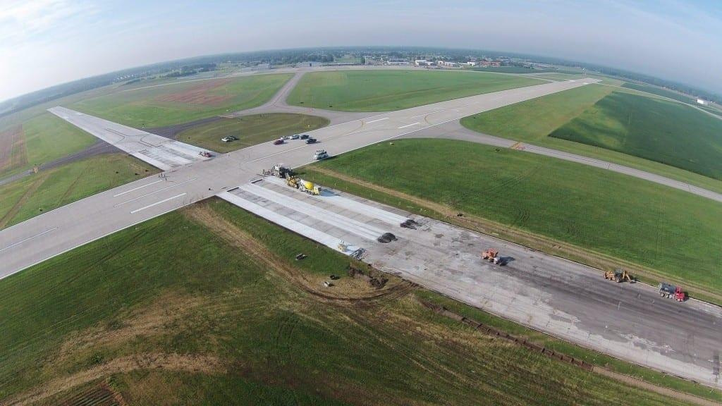Concrete Runway Resurfacing Project Columbus Indiana