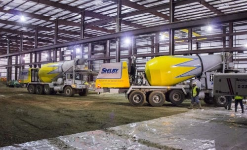 Indiana Concrete Projects Portfolio Shelby Materials