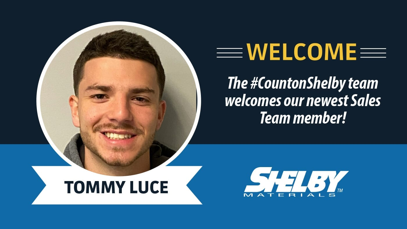 Purdue Alum Tommy Luce Joins the Shelby Materials Sales Team